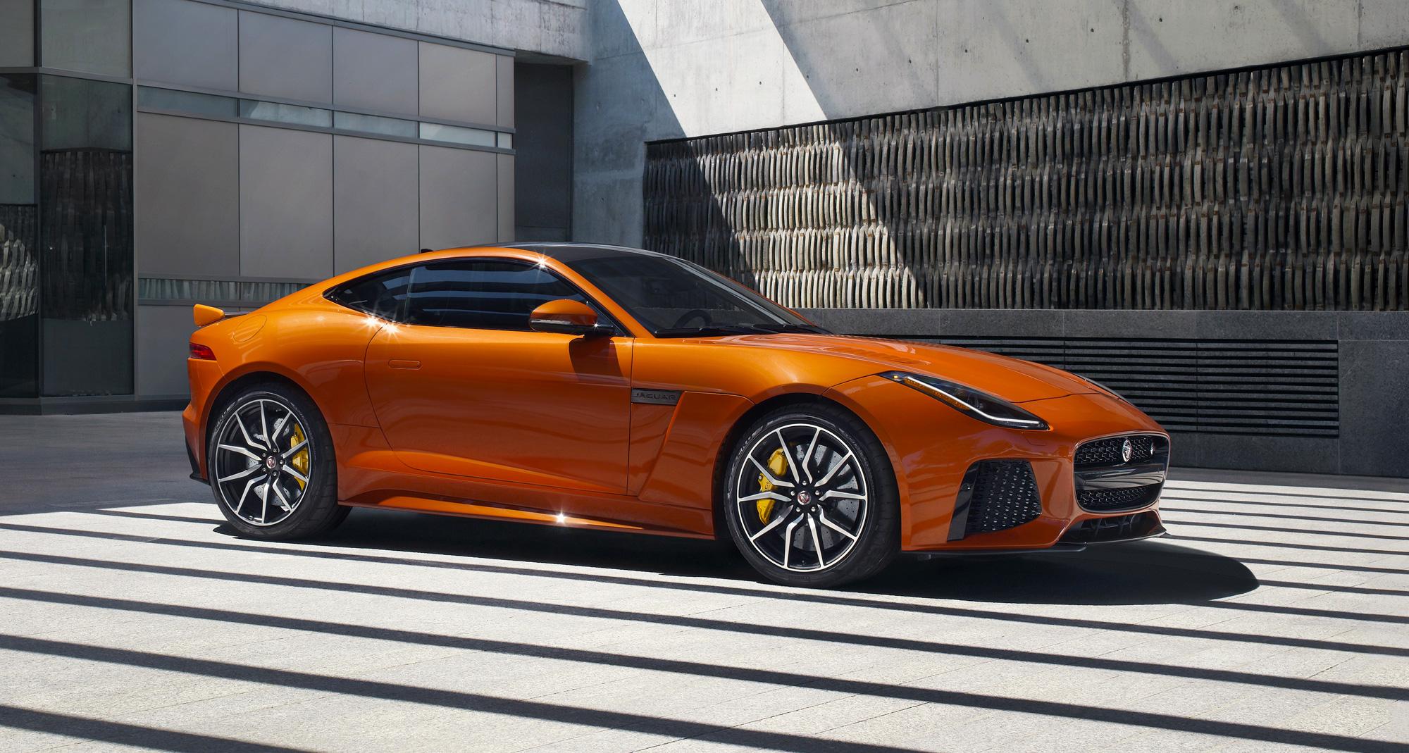 The Ftype Svr  Jaguar's Allweather Supercar  Luxurious