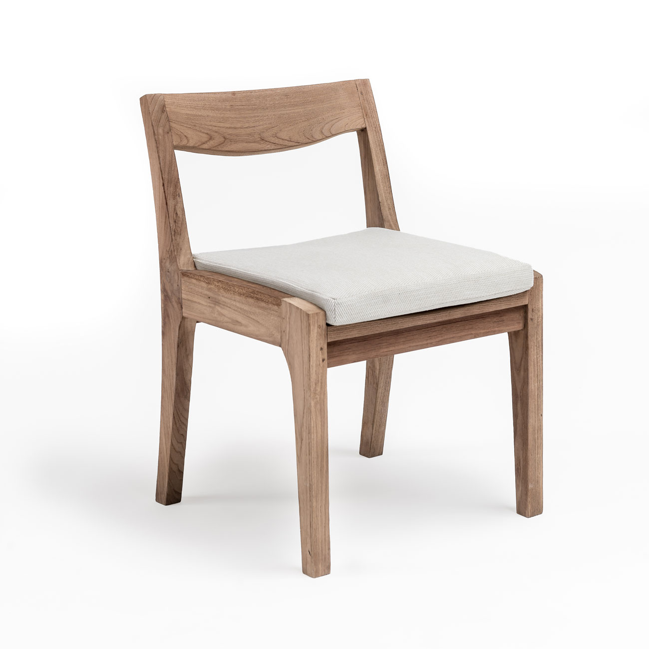 Gommaire Curve Teak Dining Chair  Luxury Outdoor Living