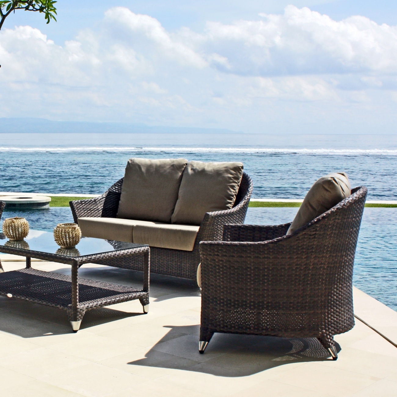 chair covers malta make your own rocking cushions skyline love seat  luxury outdoor living
