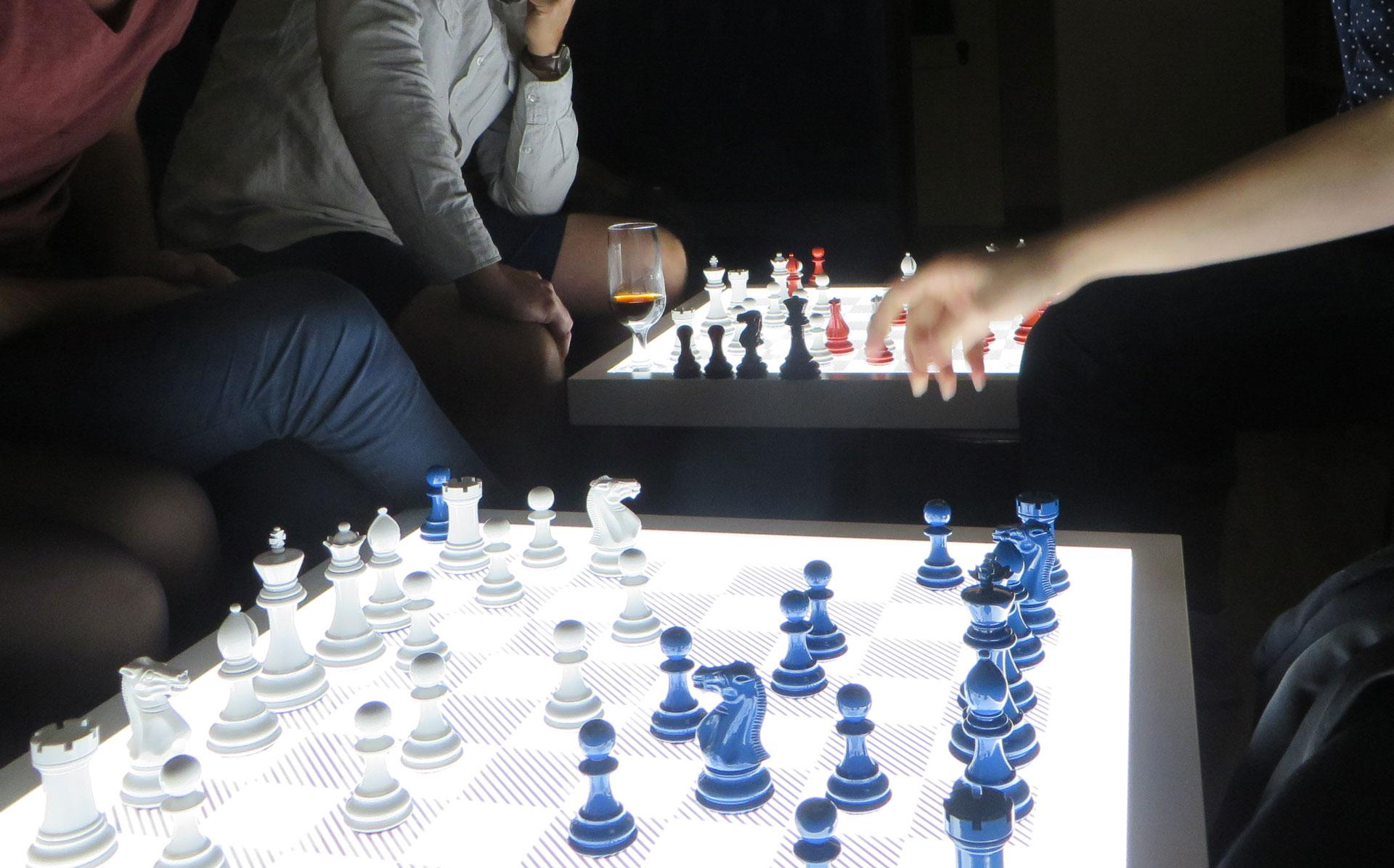 Dark Chess Set  Luxury Pool Tables  Pool Dining Table