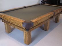 Rustic Pool or Snooker Table – Luxury Pool Tables