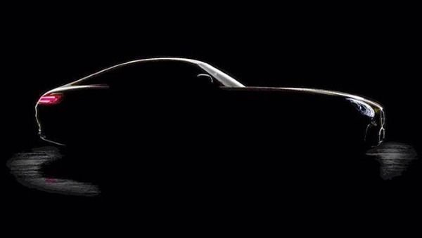 Mercedes AMG GT silhouette