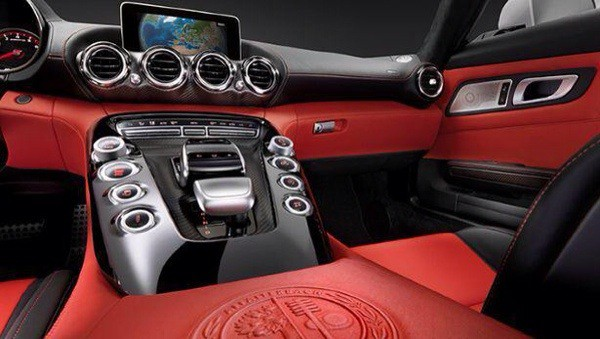Mercedes AMG GT pictures