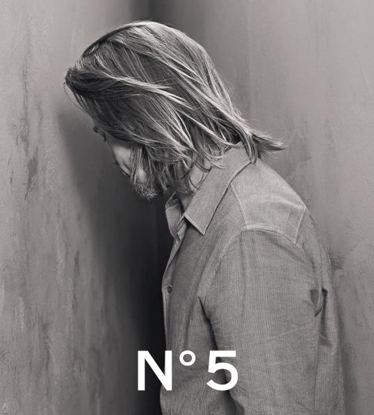 Brad Pitt for Chanel 5