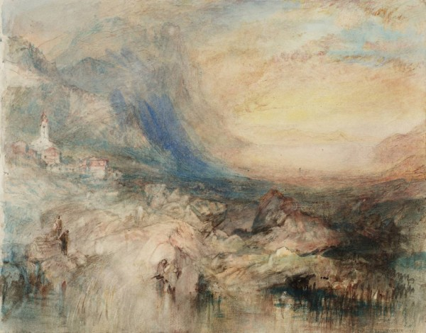 Goldau,-with-the-Lake-of-Zug-in-the-Distance--Sample-Study-circa