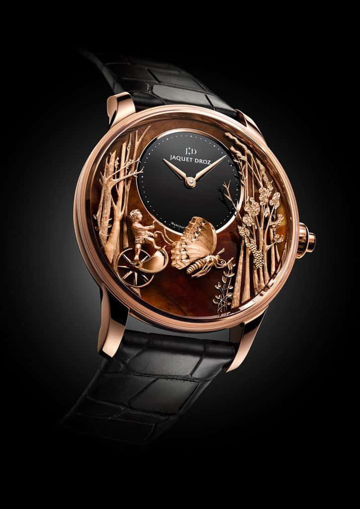 Jaquet-Droz-Loving-Butterfly-Automaton-chinchilla-red