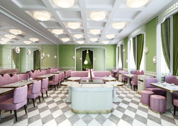 baskets pour pas cher 1450d b4d7a Ladurée Tea Room in Geneva - Jane Hogan Designs