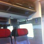 Victorinox Spectra in swiss train