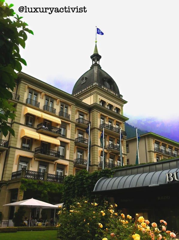 Victoria Jungfrau Grand Hotel in Interlaken  Luxury Activist