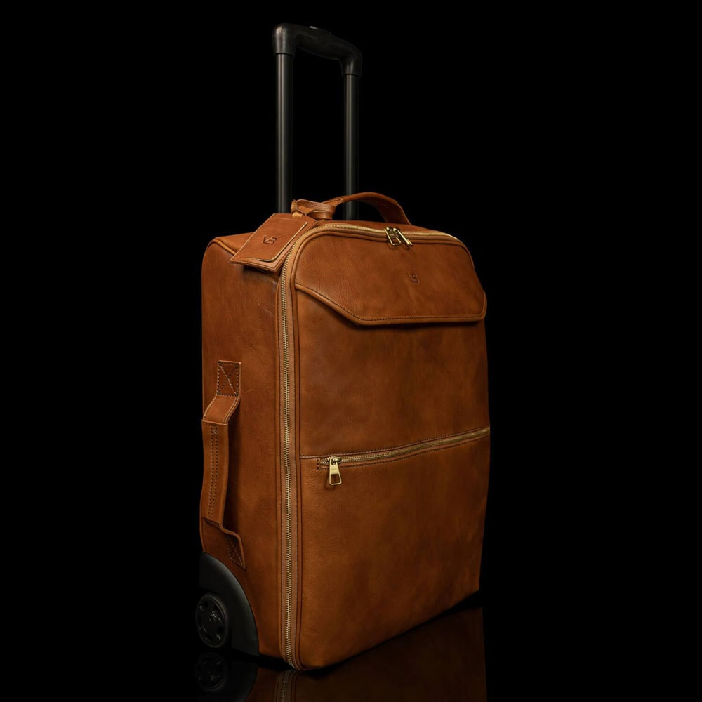 Travel-leather-luggage-carry-on-bag