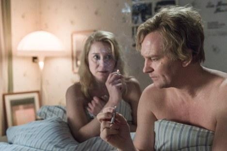 Foto: Ola Kjelbye Ulrich Thomsen og Trine Dyrholm i hovedrollerne som Erik og Anna i det danske drama 'Kollektivet'.