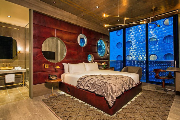 For $5000 pr. nat kan du overnatte i Guest House suiten på hotellet Dream Downtown