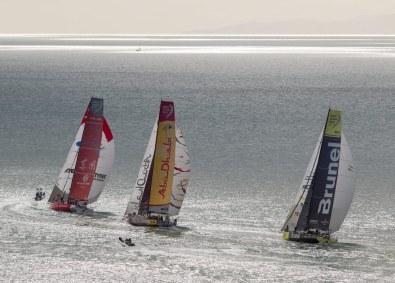 VolvoOcean Race 2014/2015 blev sejlet over syv kontinenter med stop i Cape Town (Sydafrika), Abu Dhabi (FAE), Sanya (Kina), Auckland (New Zealand), Itajaí (Brasilien), Newport (USA), Lissabon (Portugal), Lorient (Frankrig), Den Haag (Holland) og til sidst Göteborg (Sverige).