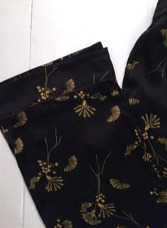 Baum, printede silkebukser fra Pre Spring 17-kollektionen.