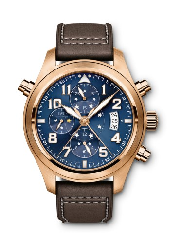 Det smukke, 44 mm store ur med IWC's eget automatiske værk, kaliber 79420, har en gangreserve på 44 timer.
