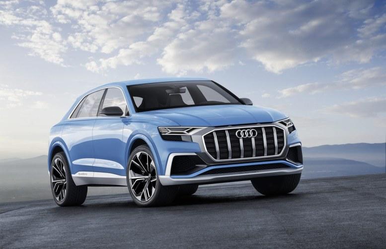 Mangler din Audi Q7 lidt elegance? Så er det da en Q8, du skal have.