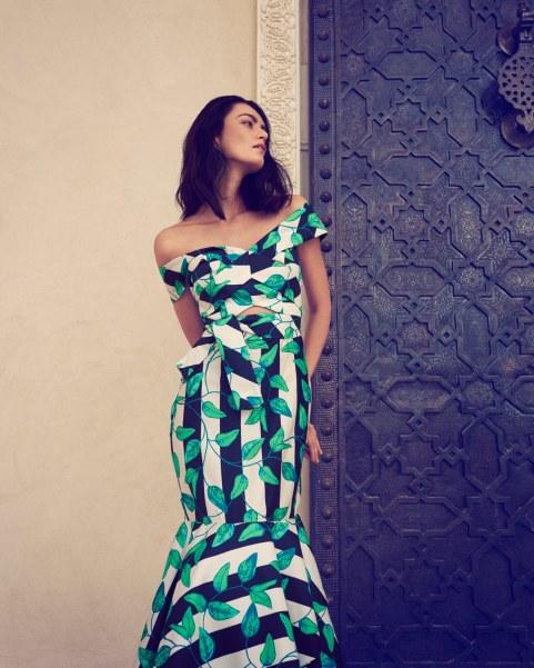Kjole: Johanna Ortiz fra mytheresa.com, 11.400 kr.