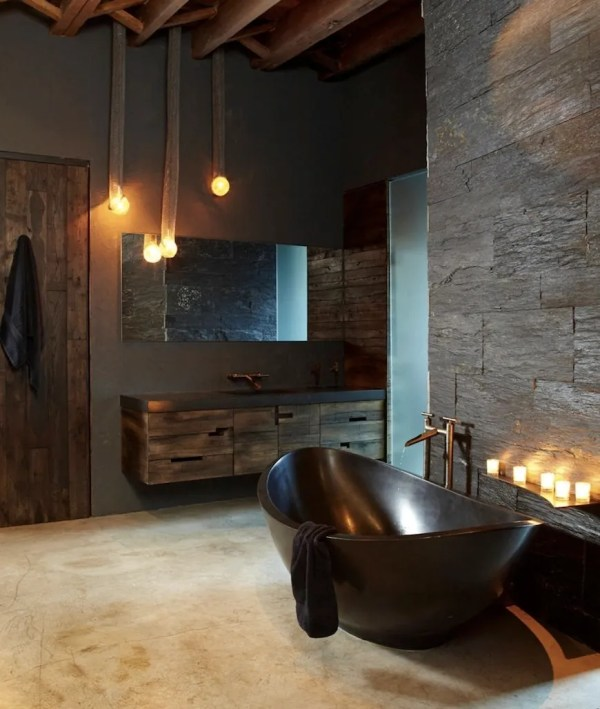 Rustic Modern Bathroom