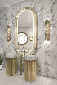 Renovate Your Luxury Bathroom with these Refined Wall ...
