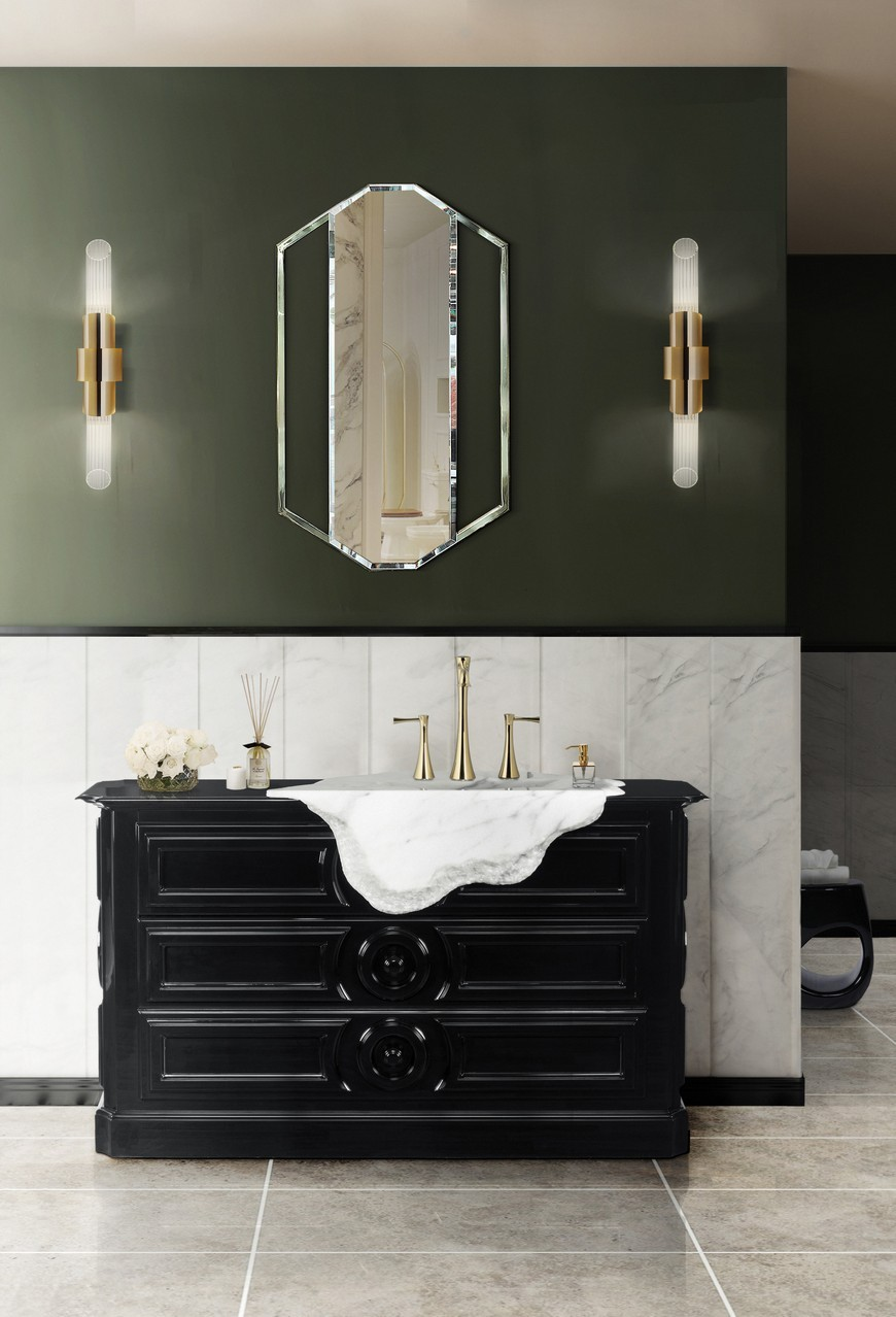 Draw Inspiration From These Stunning Contemporary Bathroom