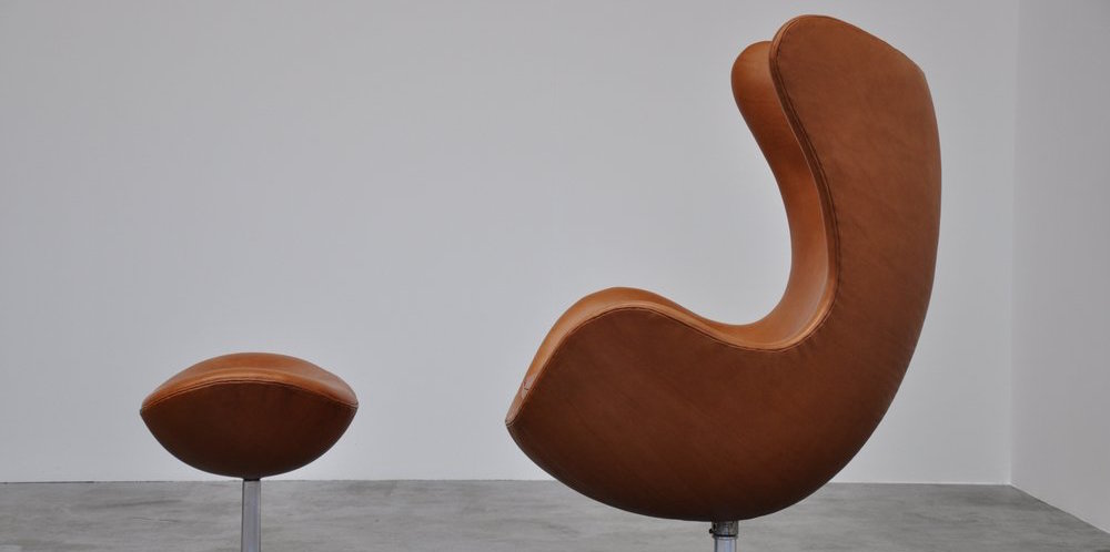 Rare Find Original Arne Jacobsen Egg Chair