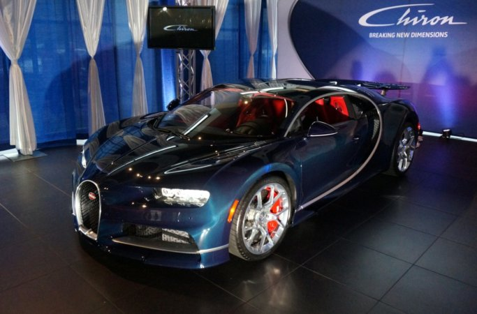 Bugatti Chiron at Weissach Vancouver
