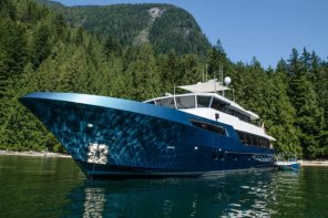 Superyacht Ascente In Vancouver