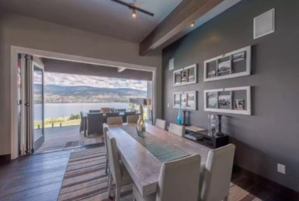 okanagan lake front concrete house airbnb 4