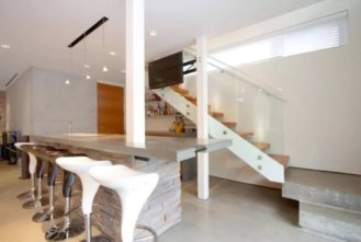 concrete house burnaby airbnb 2