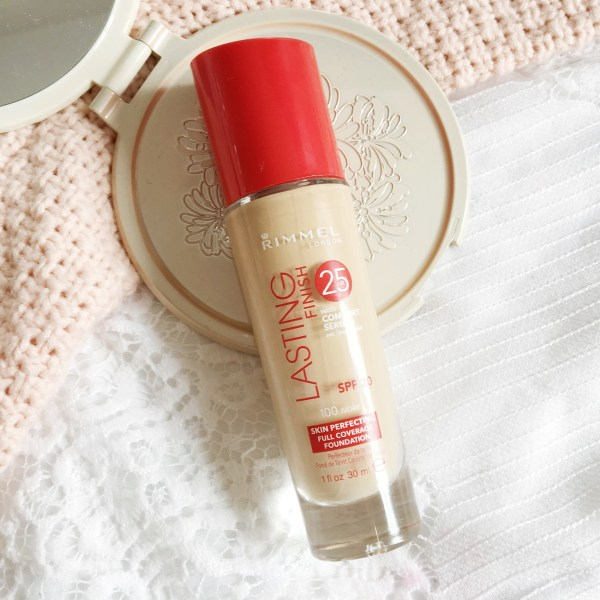 Rimmel Lasting Finish Foundation Review