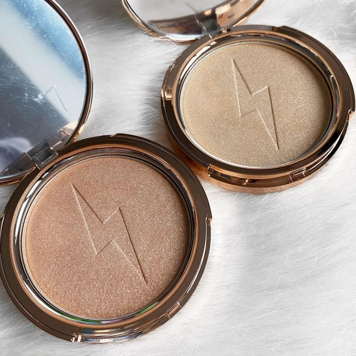Jolie Beauty highlighters Saintly and Dreaming