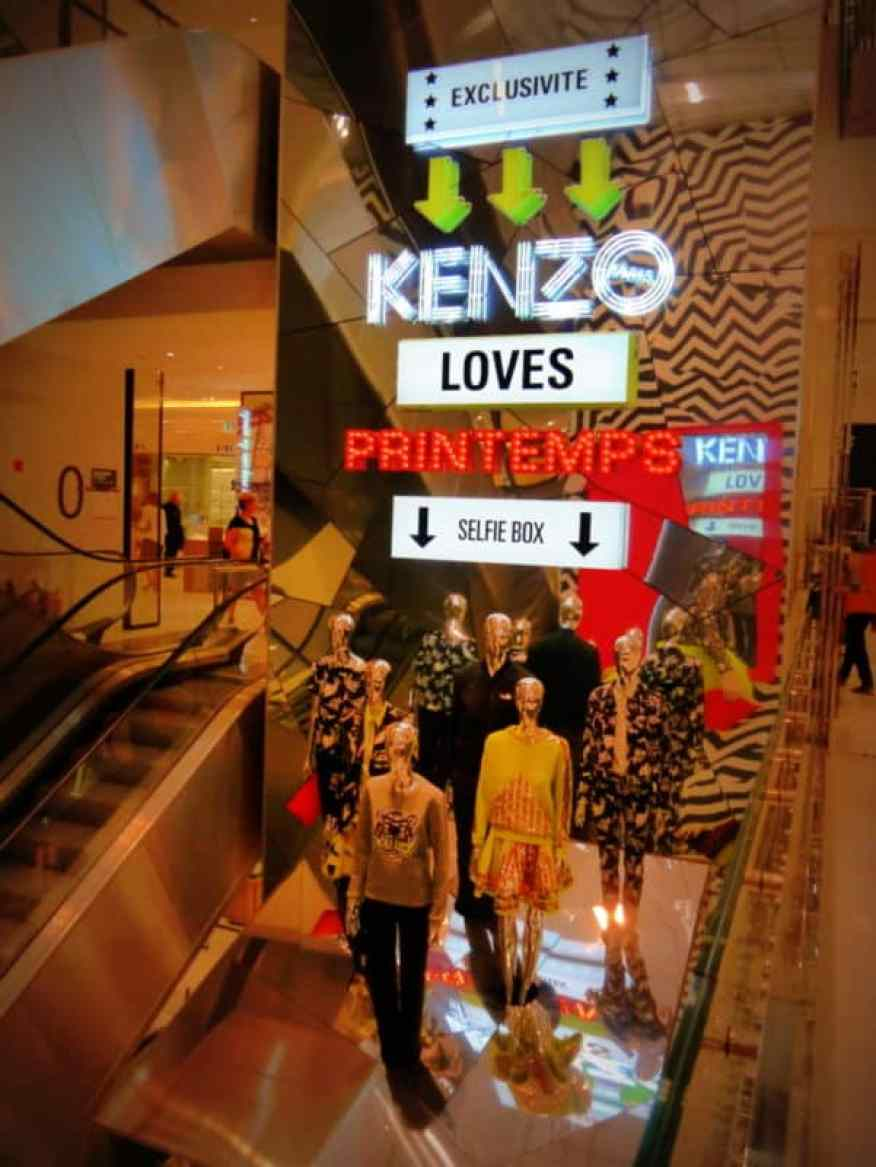 Kenzo Loves Printemps