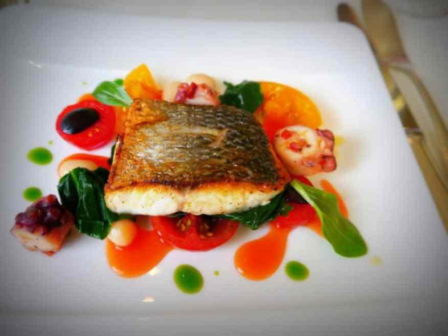 Le Manoir Sea Bass - Luxury Columnist