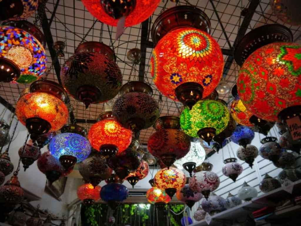 Bodrum market lanterns - www.luxurycolumnist.com