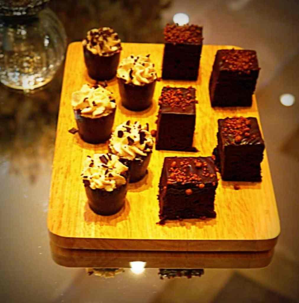 Canape desserts