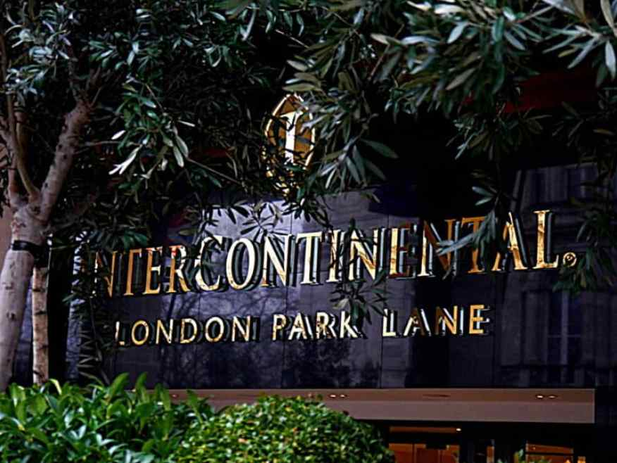 intercontinental park lane luxury columnist