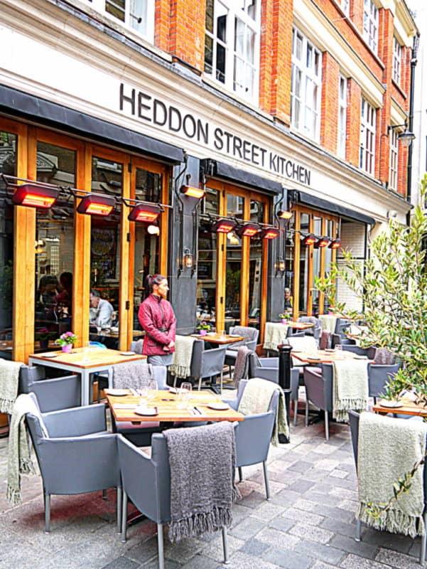 Healthy Lunch @ Heddon Street Kitchen