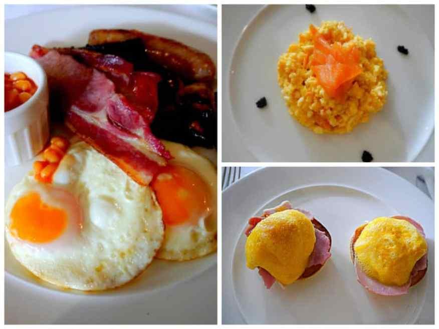 Longueville Manor breakfast