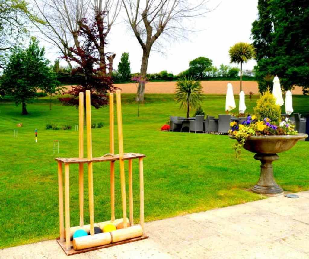 Longueville Manor croquet