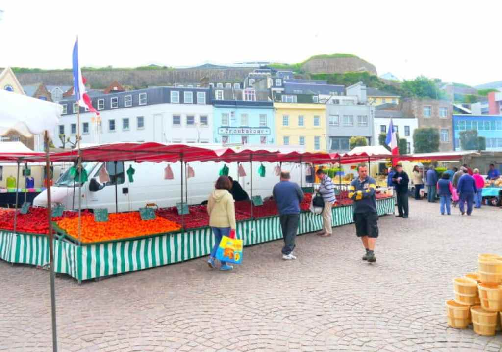 St Helier French Market