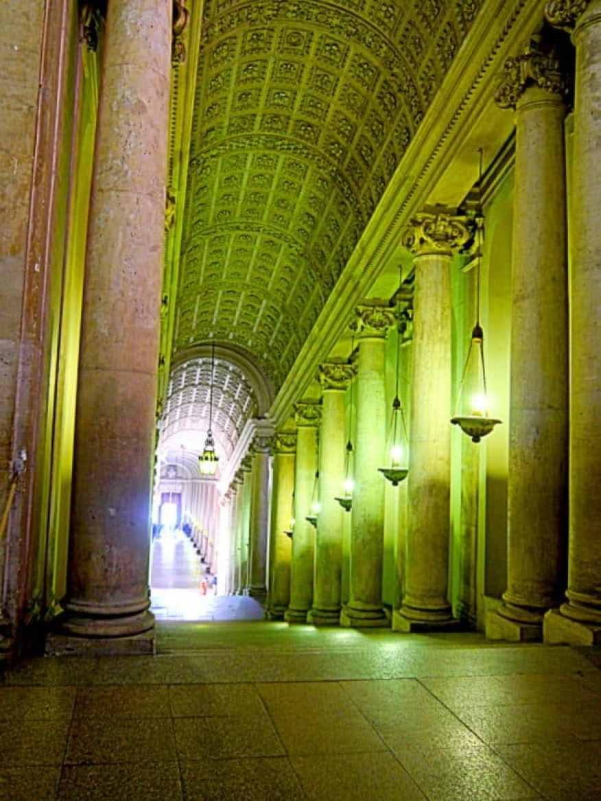 Vatican main staircase