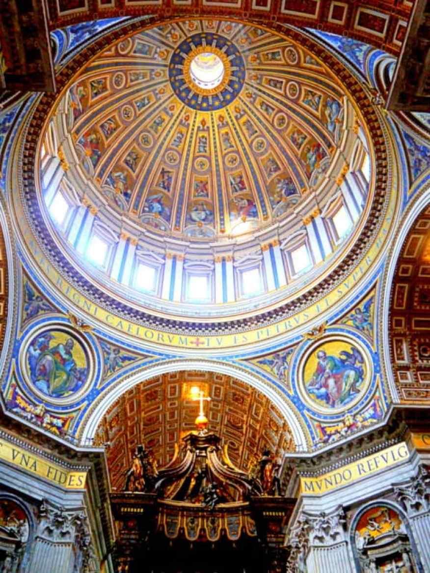 St Peter's Rome interior
