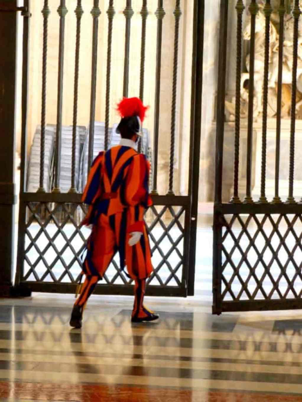 Swiss Guard Vatican - copyright Luxury Columnist