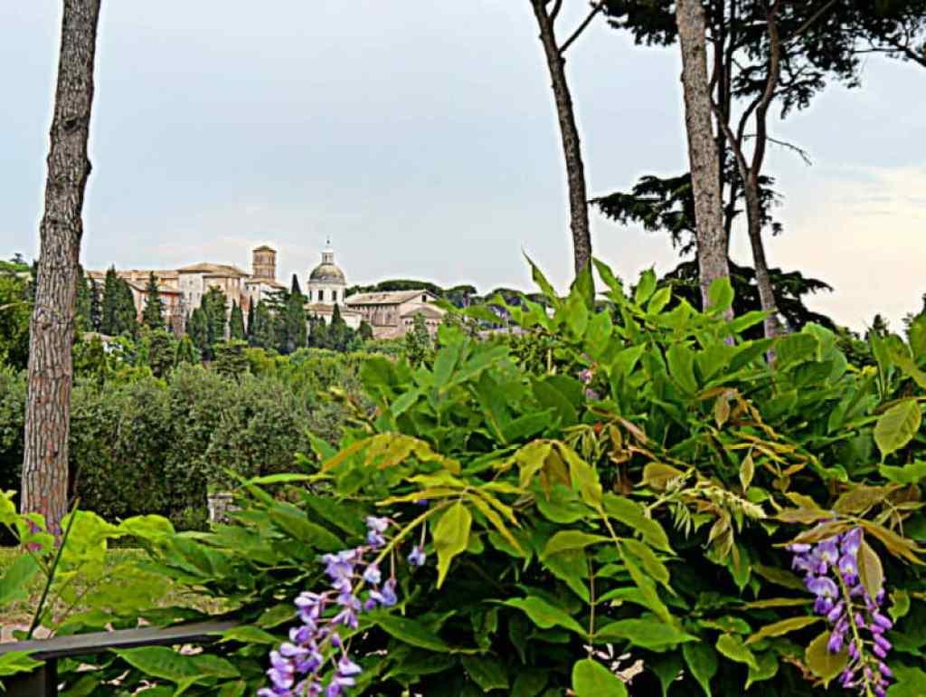 Palatine Hill view