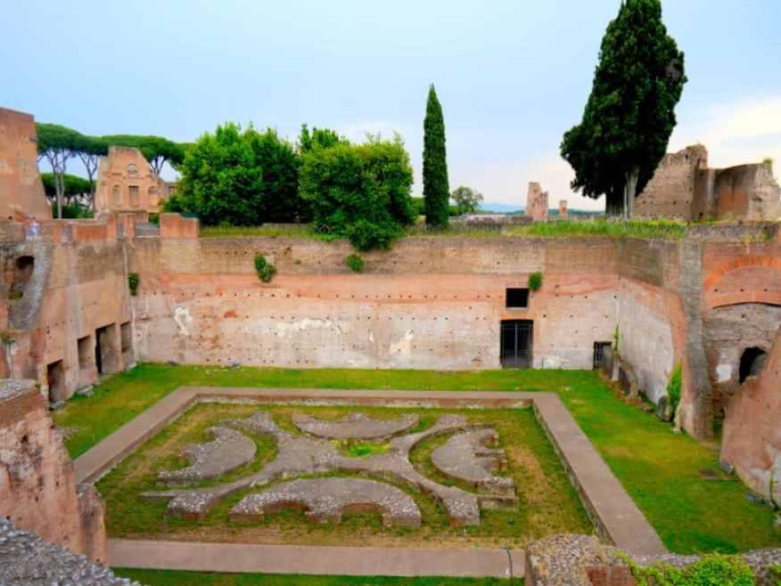 Domitian's Palace Rome
