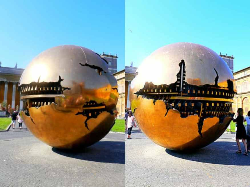 Sphere within Sphere Vatican