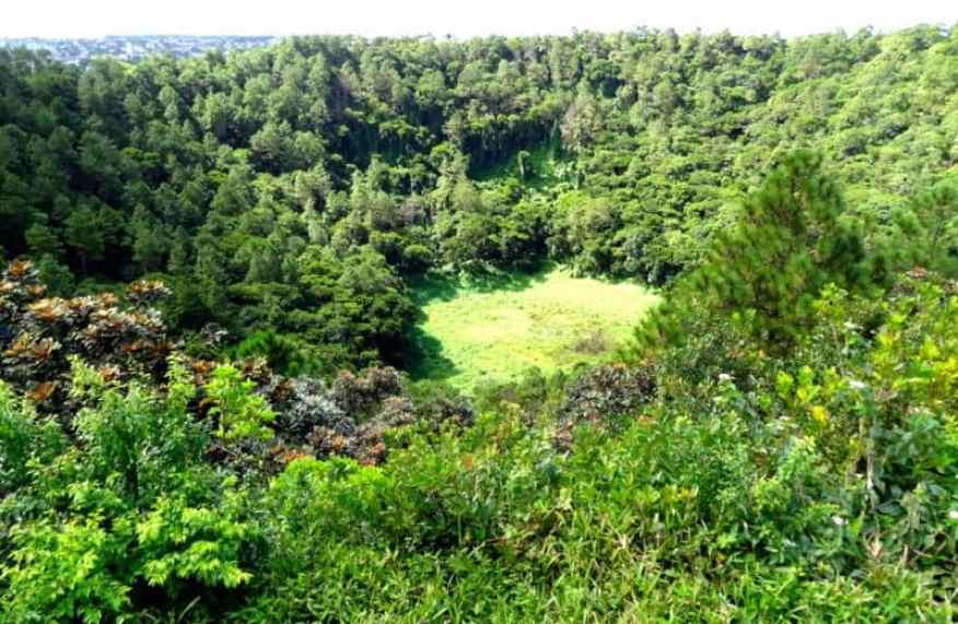 Trou aux Cerfs Mauritius volcano