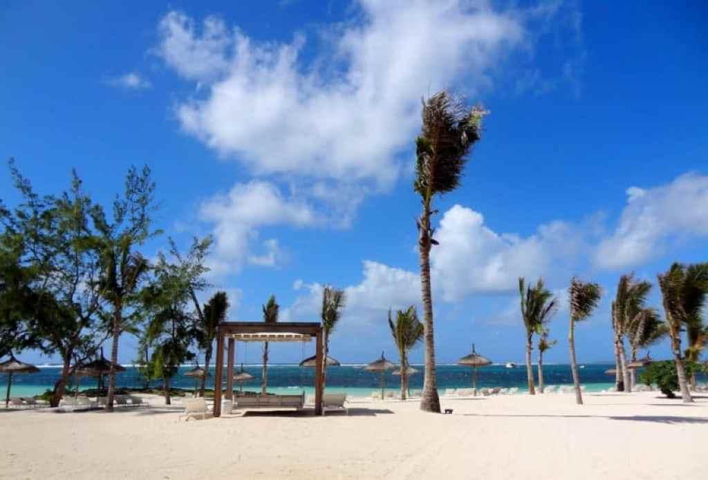 Long Beach Mauritius beach