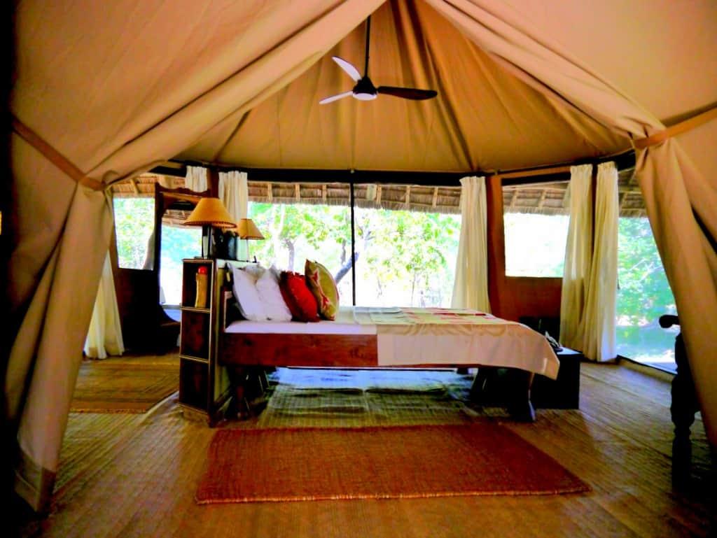 Siwandu Selous Safari tent