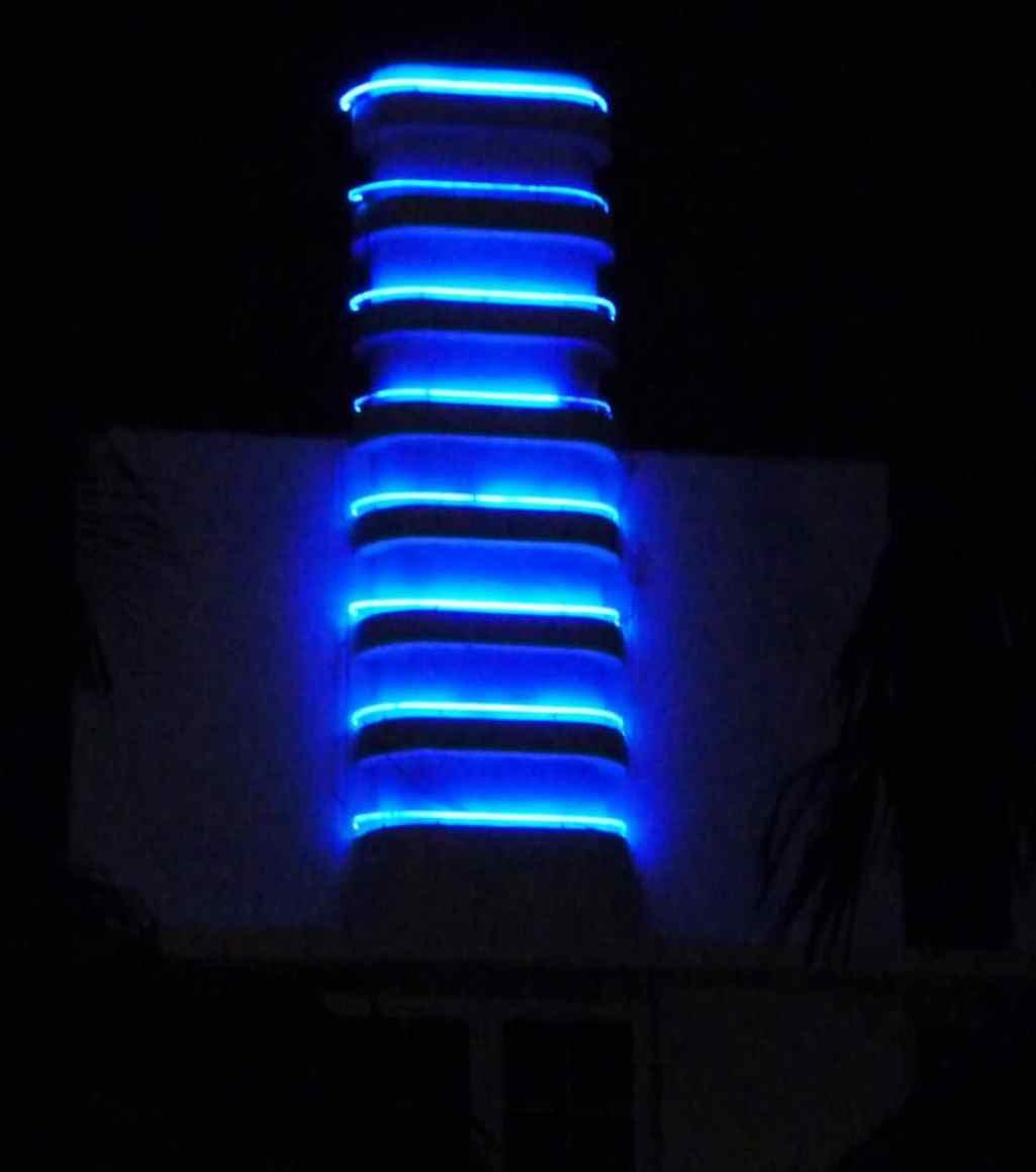 Miami Art Deco lighting